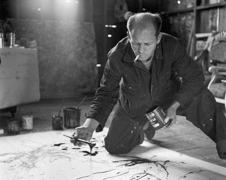"""""""Όταν ζωγραφίζω, δεν έχω συναίσθηση του τι κάνω…"""" Ζωγράφιζε σα να χορεύει ανεξέλεγκτα πάνω στον καμβά. Ο «καουμπόι» απ' το Γουαϊόμινγκ έμελε να είναι ο πρώτος αμερικανός ζωγράφος..."""