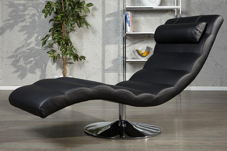 Relaxstoel Relaxo zwart