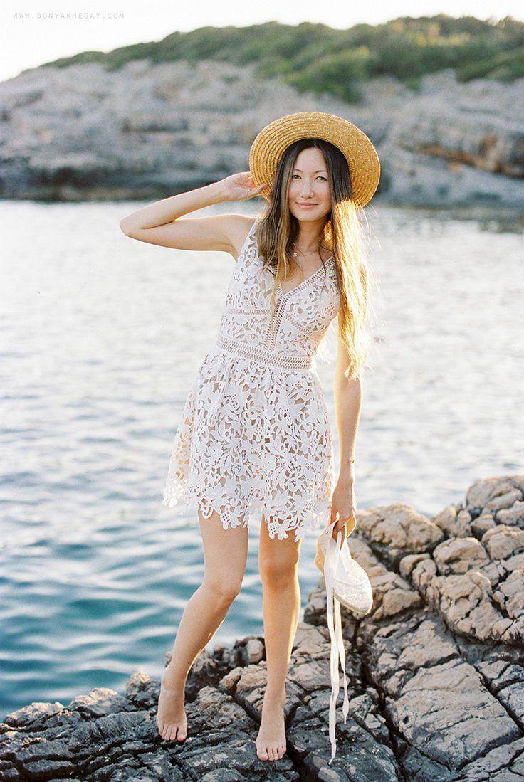 #summer #soludos #hat #girl #portrait #sonyakhegay #white #dress http://sonyakhegay.com/summer-notes/