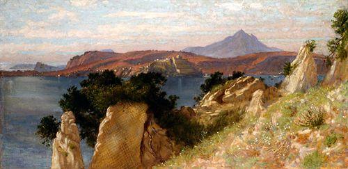 Cicero's Villa and the Bay of Baiae -- Edith Corbet