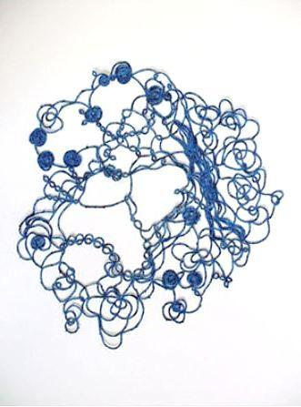 Blue Doodle   - Hildur Bjarnadóttir  -   http://hildur.net/