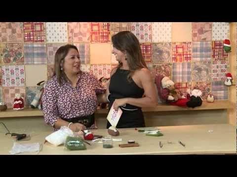 Corujinha Natalina Roberta Ávila: (11) 2068 -- 6600 rs.avila@uol.com.br - Tecido de algodão estampado - Tecido de algodão liso - Carapinha ou unifloc branco ...