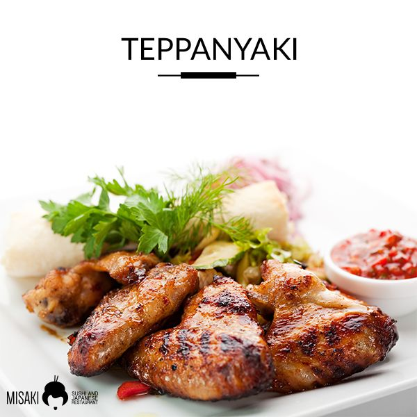Il nostro Menù  #Teppanyaki  Chicken Teppanyaki - Gyu Teppanyaki - Ebi Teppanyaki