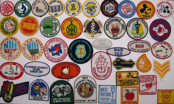 In the 1970s and '80s, how did #NIH Clinical Center staff represent their crews? With colorful #patches of course! http://irp.nih.gov/blog/post/2015/07/patch-it-up-cc-style