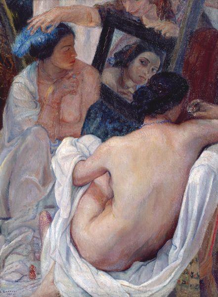 Ferruccio Ferrazzi - Frammento di Composizione, 1920-21