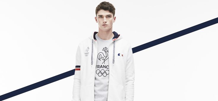 Lacoste habille la France pour les Jeux Olympiques de Rio - http://www.leshommesmodernes.com/lacoste-france-jeux-olympiques-rio/