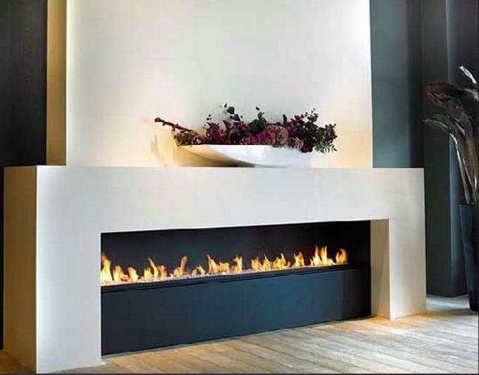 Contemporary Electric Wall Fireplace | elegant marble fireplace one fireplace – two rooms