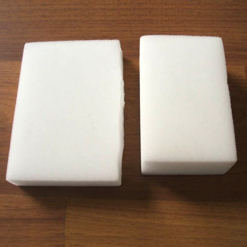 You can make your own magic erasers for cleaning by simply buying some melamine foam. You can buy 30 of them on Amazon for 15 dollars. No more paying 5 dollars for four!