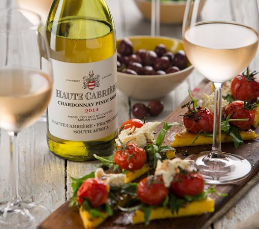Cheers to 20 years of Haute Cabriere Chardonnay Pinot Noir!