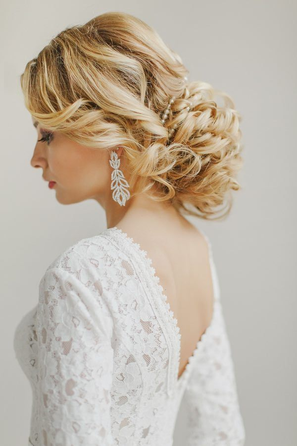 Bridal Shower Hairstyle : 313 best wedding hairstyles images on pinterest