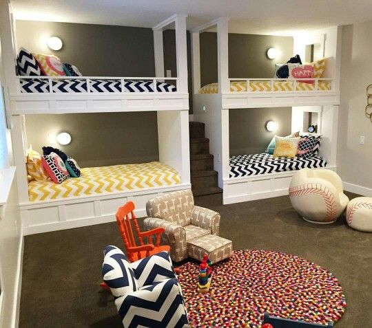 Bunk beads. Make more room and have more fun