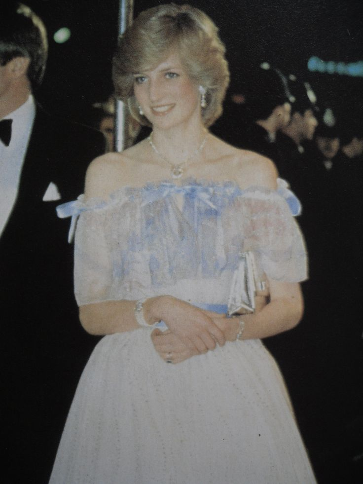"""December 2, 1982: Princess Diana arrives at the Premiere of Sir Richard Attenborough's film, """"Gandhi"""" at the Odeon Cinema, Leicester Square, London."""