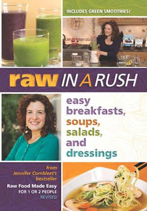 117 best raw vegan cook books helpful guide books images on want to include more raw food into your life raw in a rush easy soups salads and dressings is an amazing new dvd from cornbleet forumfinder Gallery