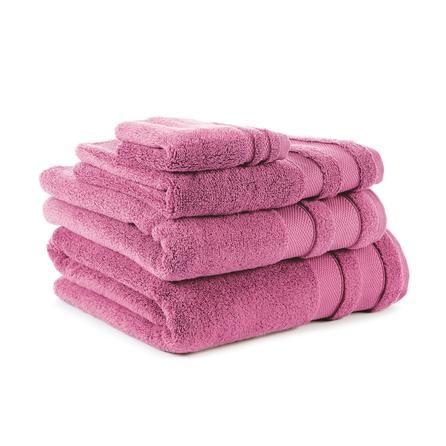 So Soft Collection Zero Twist Towels #dunelm #towels #bath #home #radiantorchid #pantone
