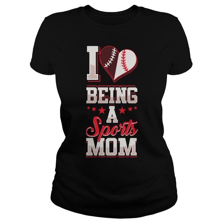 I LOVE BEING A SPORTS MOM  BASKETBALL T SHIRT DESIGN ONLINE