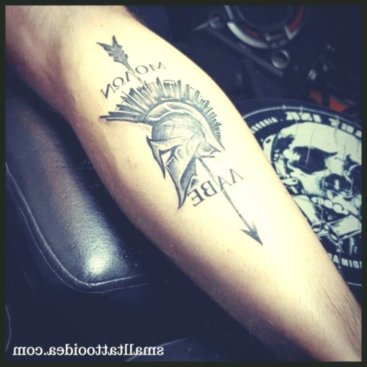 30+ Molon Labe Tattoo Meaning and Ideas – #Arm #Butterfly #Christian #Disney #Feather