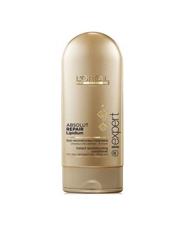 @loreal_es  #Acondicionador sin sulfatos L' oreal Absolut Repair Lipidum. Tratamiento reparador para #cabellosmuysecos o castigados.  http://www.lapeluencasa.com/productos-loreal/productos-cabello/absolutrepairlipidium1