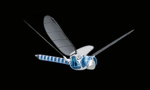 BionicOpter, A Dragonfly-Like Flying Robot by Festo