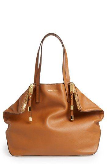 Michael Kors 'Large Miranda' Leather Shopper available at #Nordstrom
