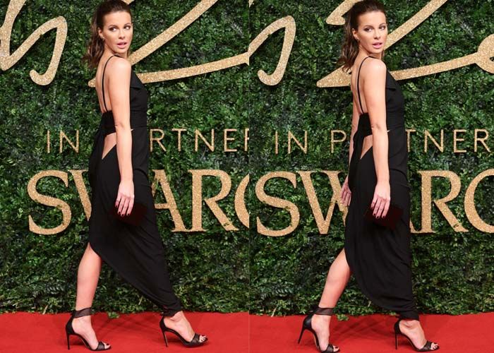 No Crying Here: Kate Beckinsale Hits the Red Carpet After Divorce Announcement in Casadei Heels