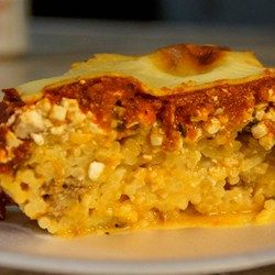 """Baked Spaghetti Casserole - Allrecipes.com I wonder if this tastes like the baked spaghetti from the old """"Vineyard Restaurant"""" in Vegas at the Boulevard Mall.  It was awesome!!!!"""