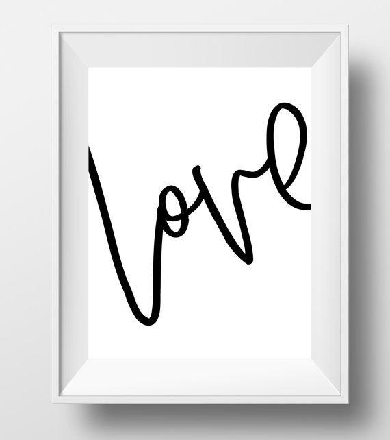printable art love love wall art love art by