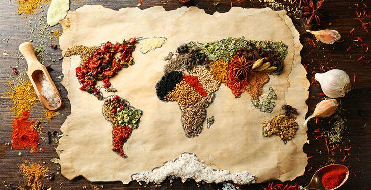 Кулинарный путеводитель по частям света / Путешествия / Моя Планета