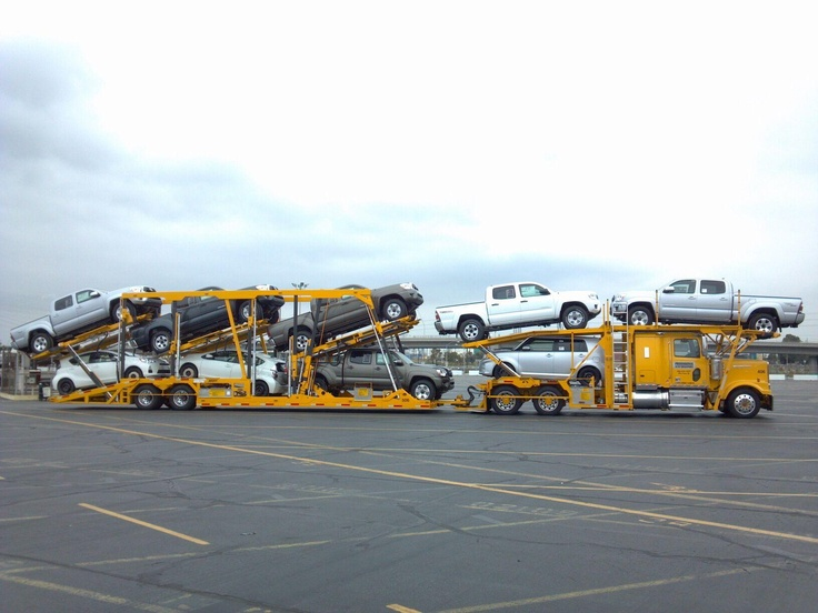 16 Best Car Hauler Truck Images On Pinterest Truck Trailers And