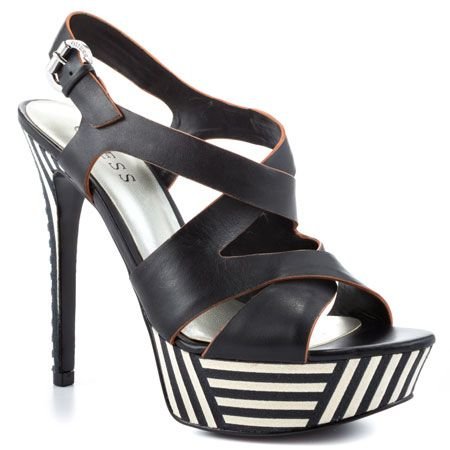 Danten - Black Leather by Guess Shoes