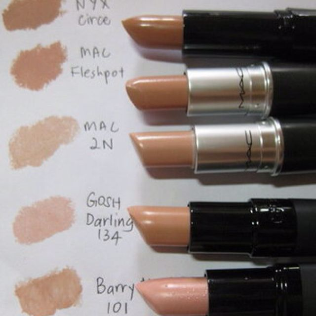I need to get to a MAC counter immediately and try some of their nude lippies.