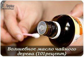 Волшебное масло чайного дерева (101рецепт) ГОЛОВА *
