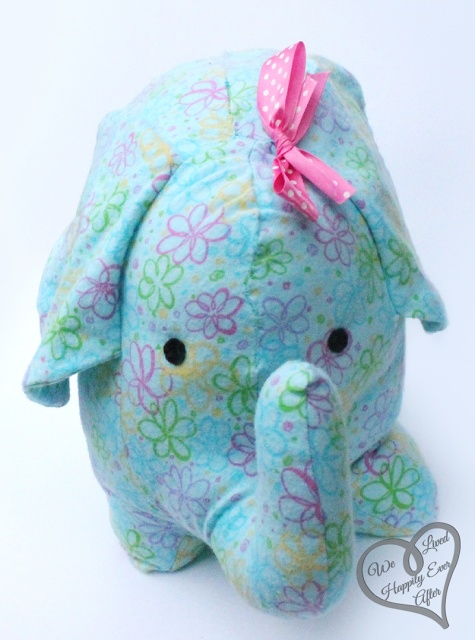 Adorable DIY Stuffed Elephant Pattern & Tutorial