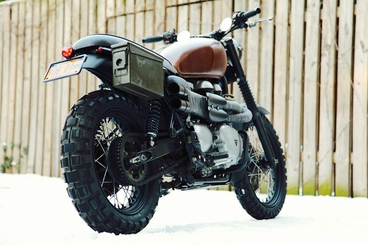 Triumph scrambler ammo box