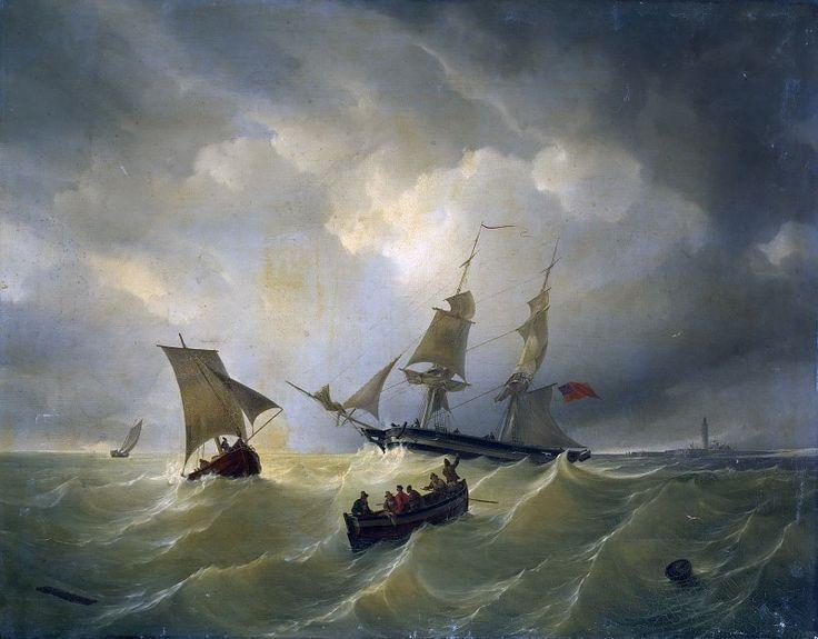 Северное море в Куксхафене. Карл Фридрих Шульц