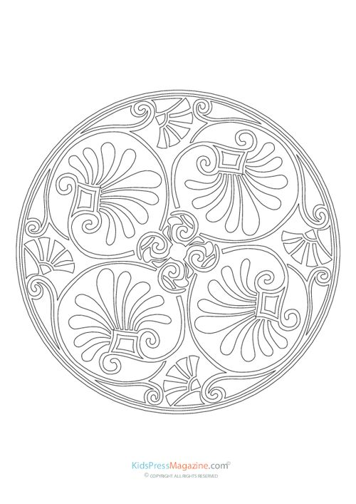 97 best Mandalas Coloring Pages images on Pinterest | Art therapy ...