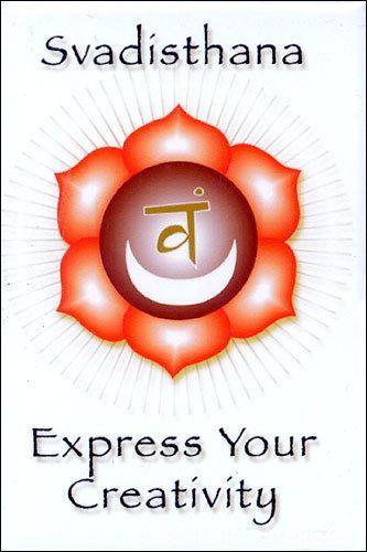 Svadhisthana - Sacral Chakra. Express your creativity.