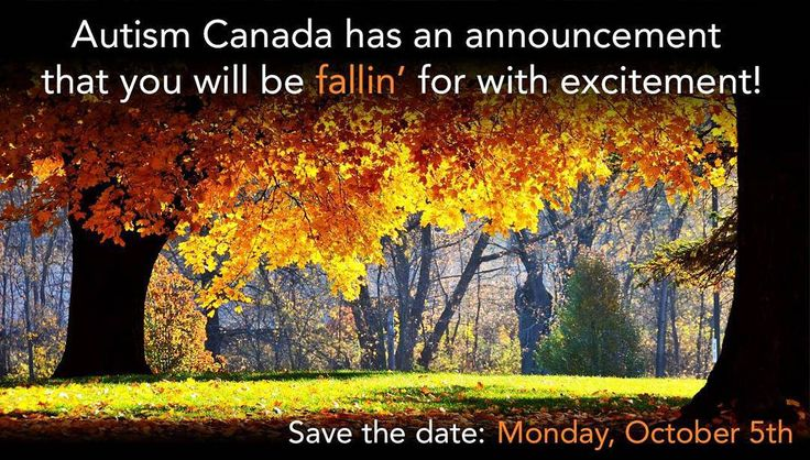 Be the first to see the new #AutismCanada. Big announcement on Monday October 5th!