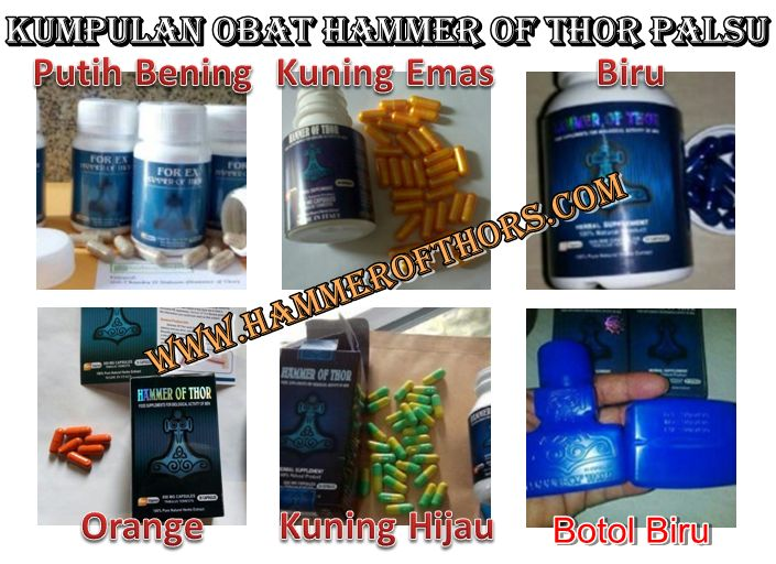 awas kumpulan obat hammer of thor palsu yang harus di hammer of