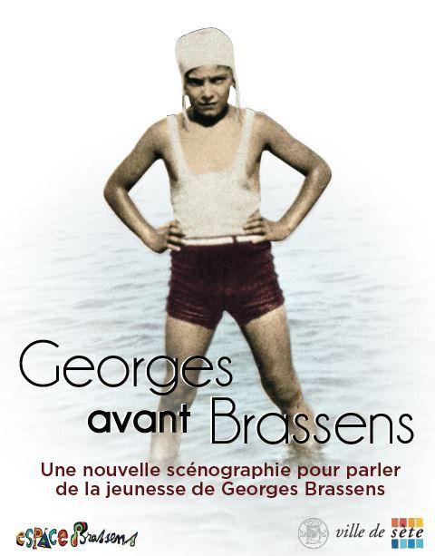 Musée Espace Georges Brassens Sète Affiche