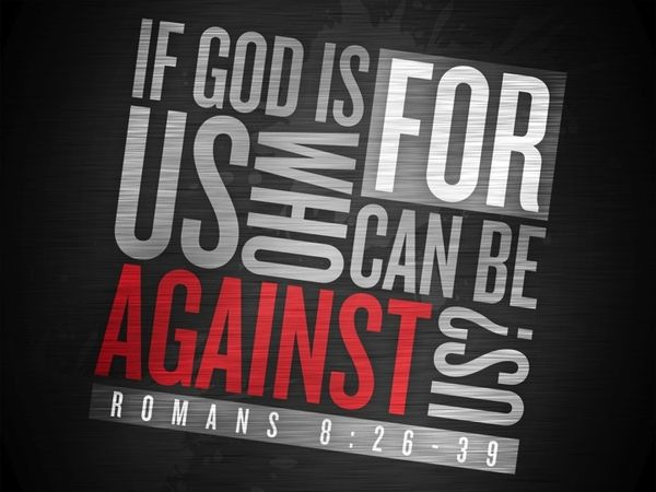 """…If God be for us, who can be against us?"" (Romans 8:31, KJV) The point is NO ONE can stand against Jesus, therefore if you are with Him do not fear anyone, or anything. He is on your side and by your side and He never sleeps. Call out to Him now."