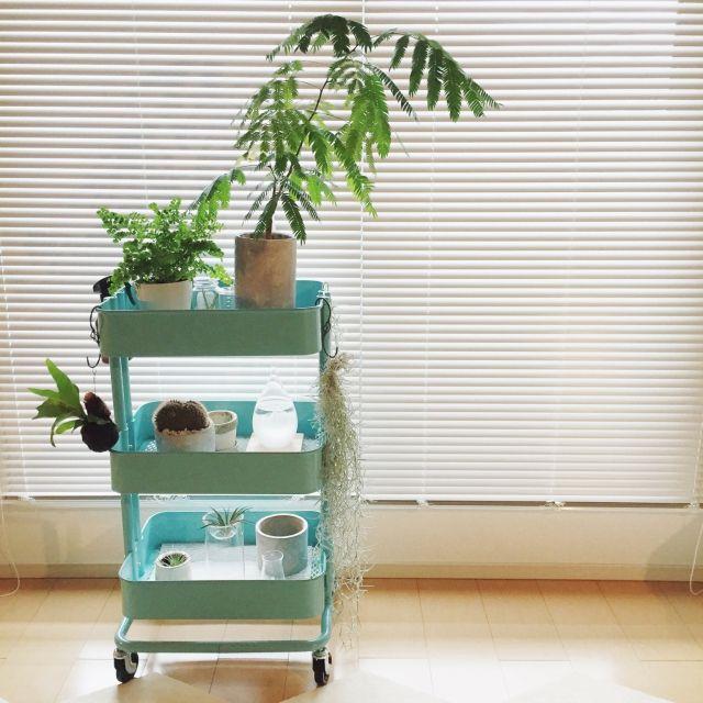 家中使える♪IKEAのキッチンワゴンまとめ | RoomClip mag | 暮らしと ...