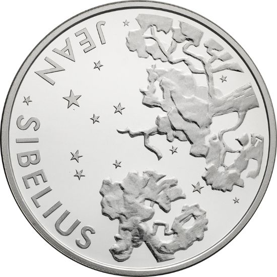 Jean Sibelius collector coin 10 €