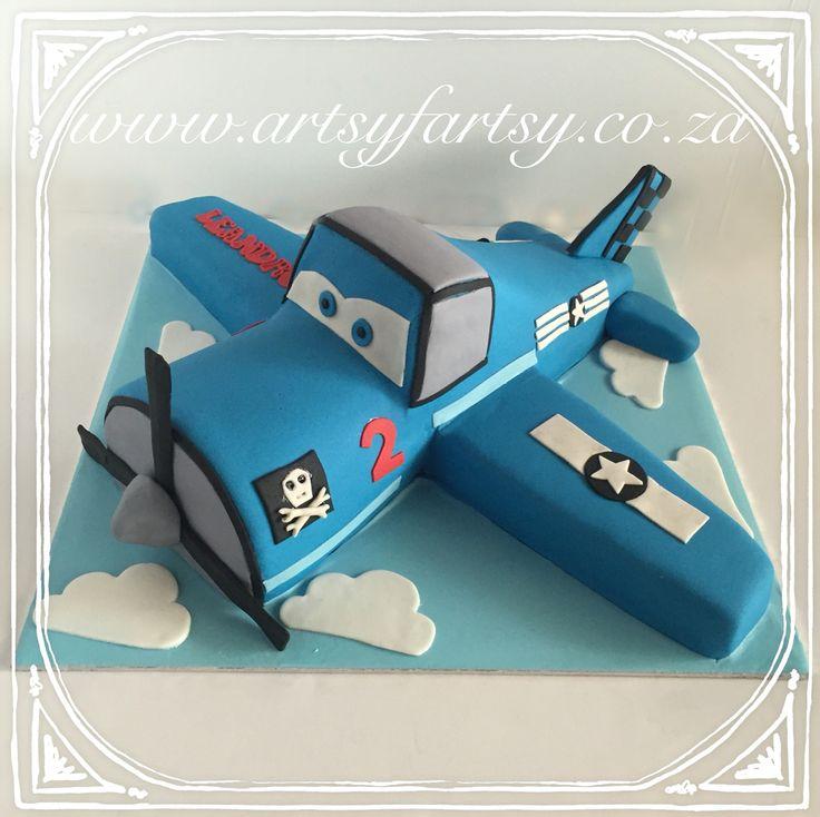 Airplane Cake #airplanecake
