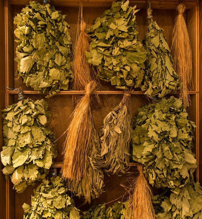 Range of veniks at Banya No. 1 www.gobanya.co.uk spa banya health beauty sauna natural russian
