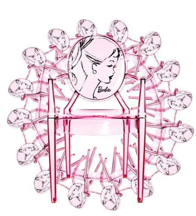Kartell Barbie chair
