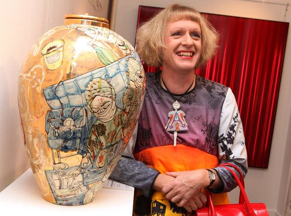 Grayson Perry Photos: Grayson Perry Unveils Urn For A Living Charity Sale