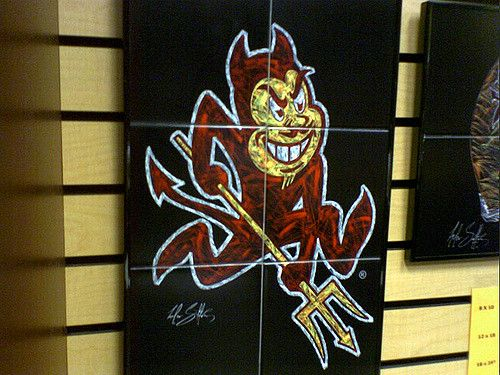 https://flic.kr/p/K3Nym | Sparky tiles | available at the Sun Devil Stadium Shop