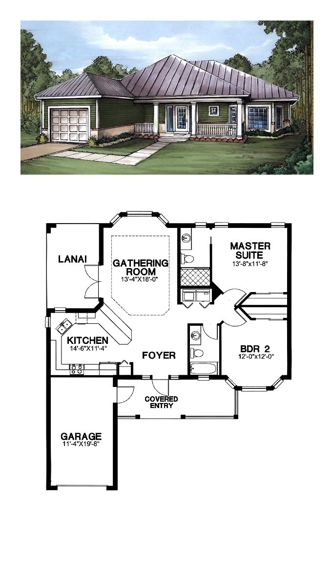 16 best images about florida cracker house plans on for Cool house plans garage