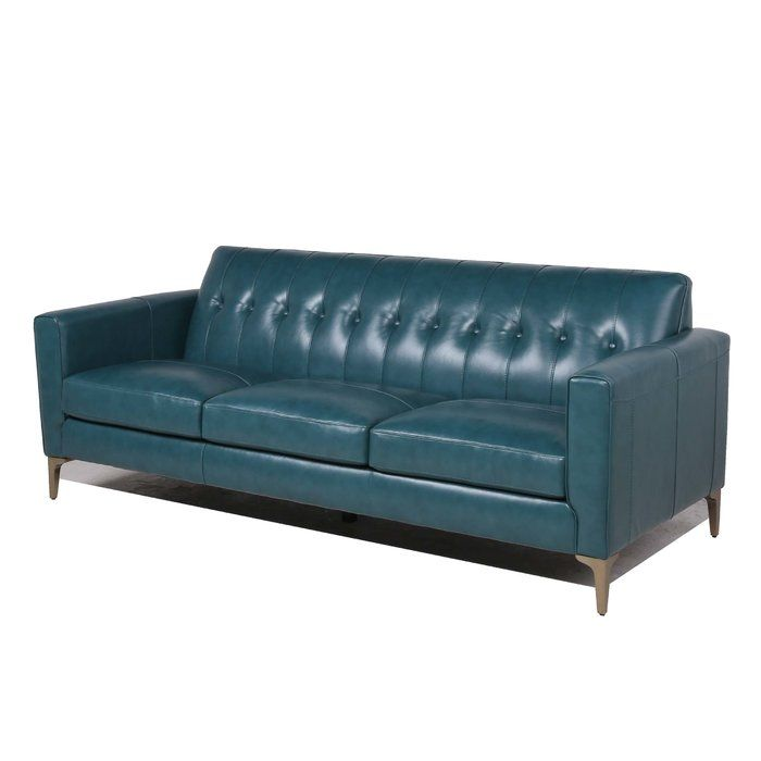 Janesville Sofa Contemporary Leather Sofa Modern Leather Sofa