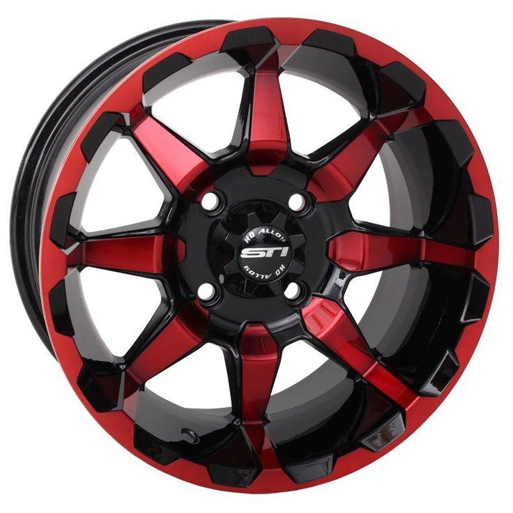 Discount UTV Tires ATV Tires and Wheels - STI RADIANT WHEELS 14 INCH, $78.99 (http://www.discountutvtires.com/STI-RADIANT-WHEELS-14-INCH-ATV-UTV/)